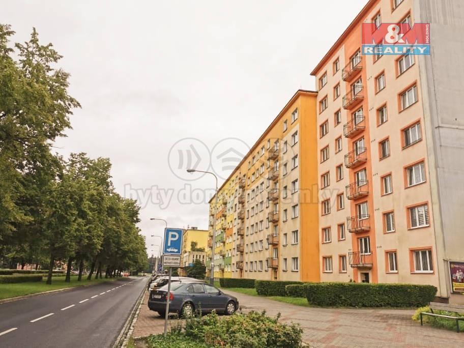 Pronájem bytu 2+kk, 53 m², Ostrava, ul. Hlavní třída
