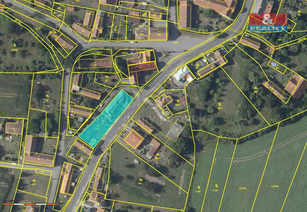 Prodej pozemku k bydlení, 790 m², Sekeřice