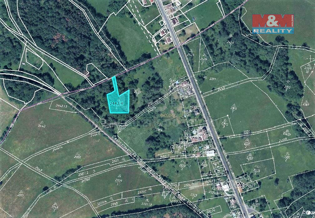 Prodej lesa, 2600 m², Kamenický Šenov