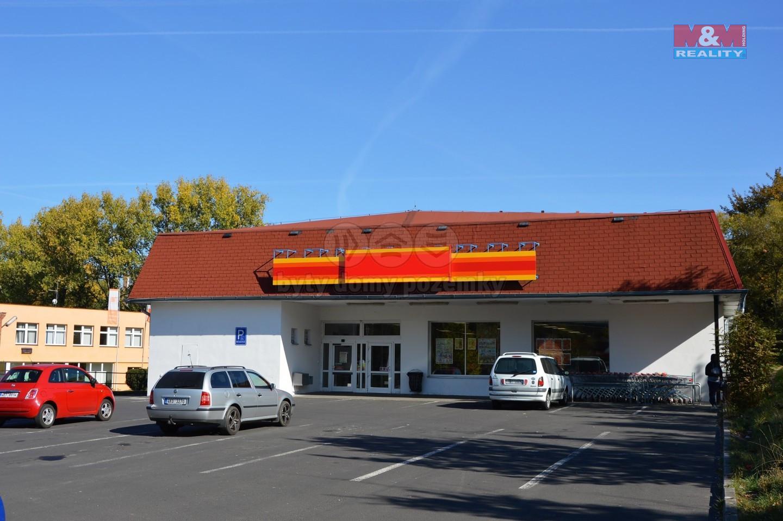 Prodej obchodního objektu, 990 m², Cheb, ul. Americká