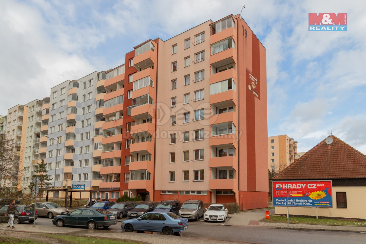 Prodej bytu 3+1, 67 m², České Budějovice, ul. M. Chlajna