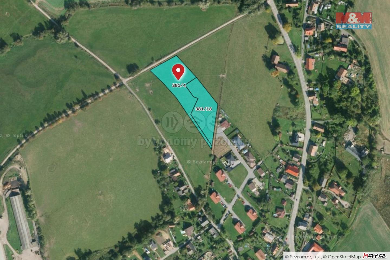 Prodej pozemku k bydlení, 8300 m², Semanín