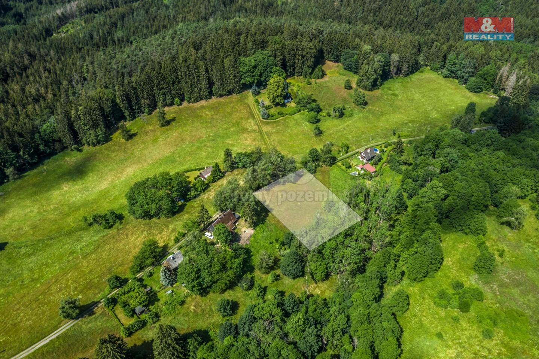Prodej pozemku k bydlení, 4140 m², Krásná Lípa