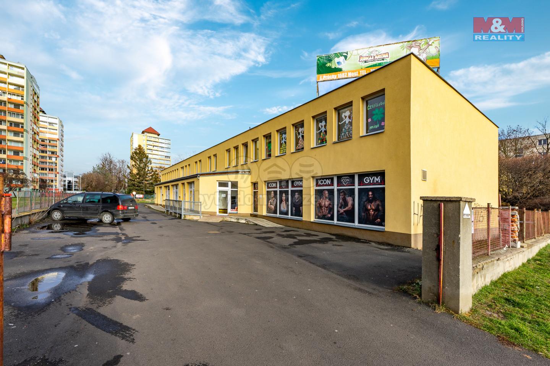 Pronájem fitness centra, 350 m², Most, ul. U Věžových domů