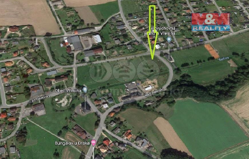 Prodej pozemku, 4407 m2, Vřesina u Hlučína