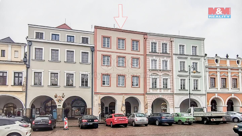 Pronájem bytu 4+kk, 144 m², Litomyšl, ul. Smetanovo náměstí