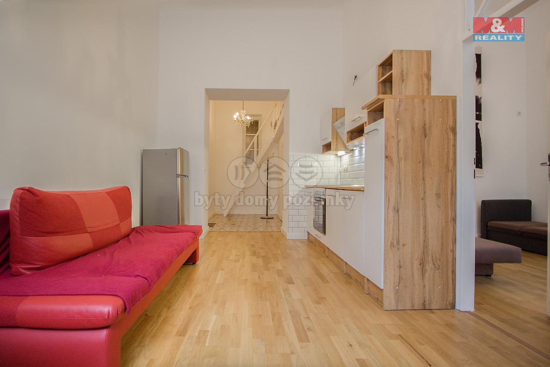 Pronájem bytu 2+kk, 44 m², Praha 2, ul. Lucemburská