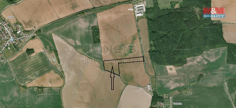 Prodej pole, 9541 m², Rychnovek