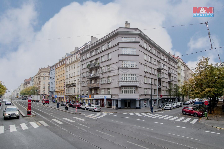 Pronájem bytu 2+kk, 50 m², Praha, ul. Vinohradská