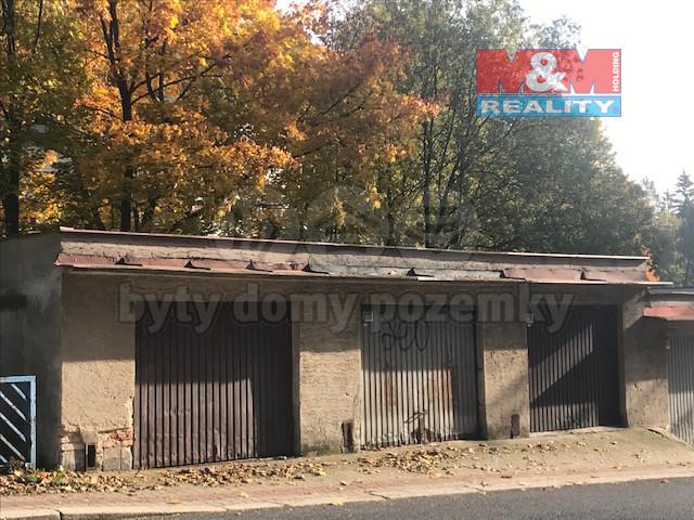 Prodej garáže, 26 m², Jablonec nad Nisou, ul. Podhorská