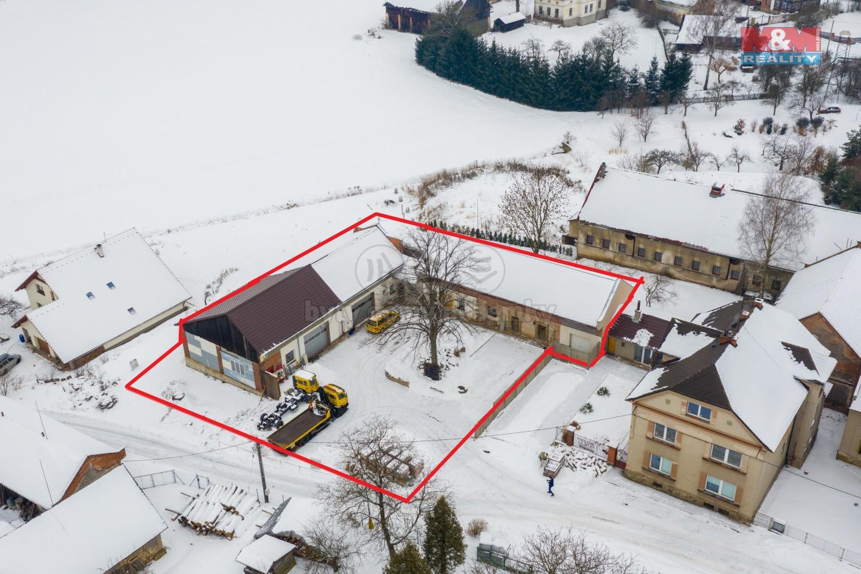 Prodej komerčního prostoru, 1643 m², Bílá Třemešná