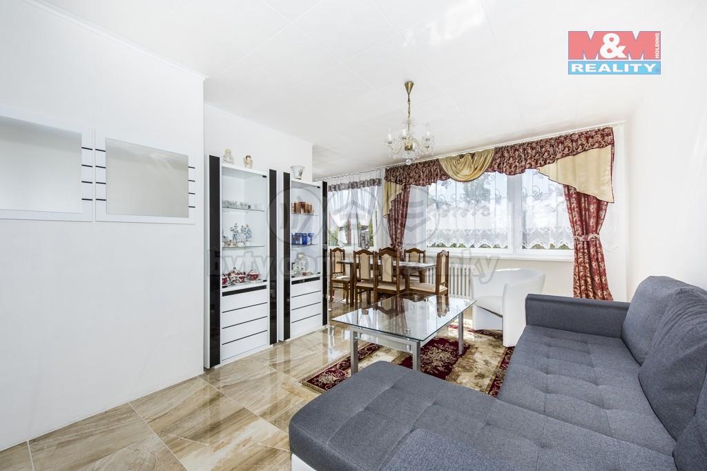 Prodej, byt 3+1, 68 m2, DV, Most, ul. Františka Malíka
