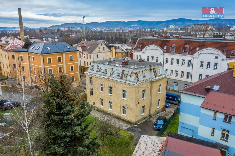 Prodej nájemního domu v Liberci, ul. Hanychovská