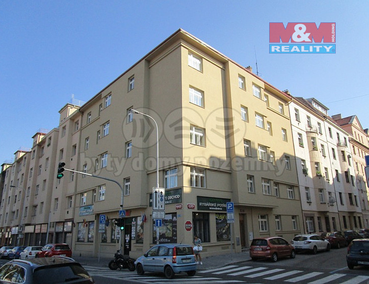 Prodej, byt 2+kk, 52 m2, Praha 5 - Košíře