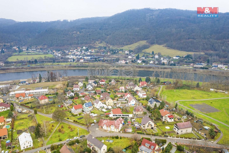 Dům - pohled z vrchu