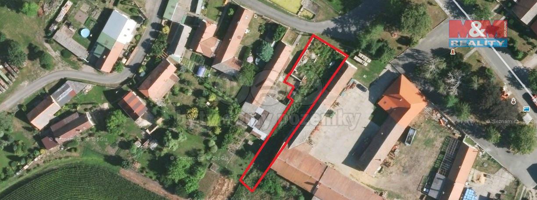 Prodej pozemku k bydlení, 649 m², Bílé Podolí - Zaříčany