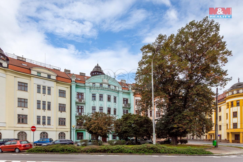 Prodej bytu 1+1, 63 m2, Pardubice - Čechovo nábřeží