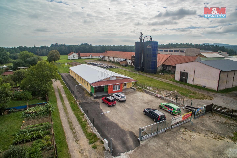 Prodej, obchodní objekt, Pracejovice