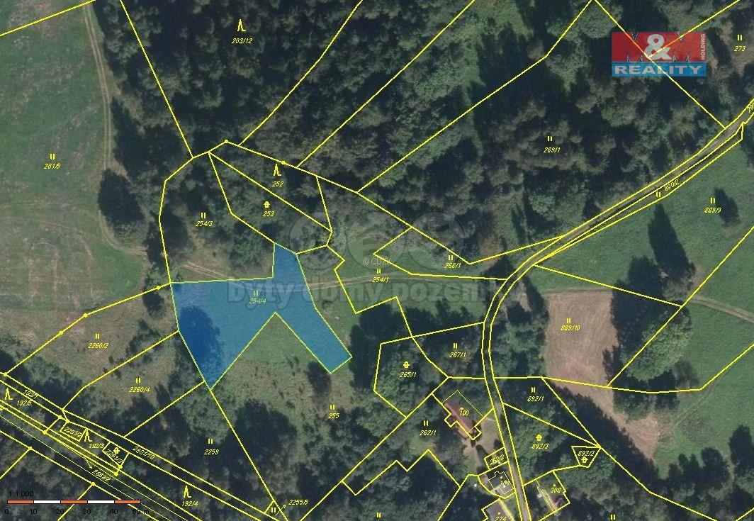 Prodej pozemku, 1589 m², Tanvald