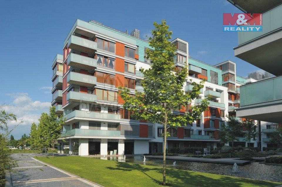 Pronájem, byt 2+kk, 77 m², Praha ul. Rohanské nábřeží