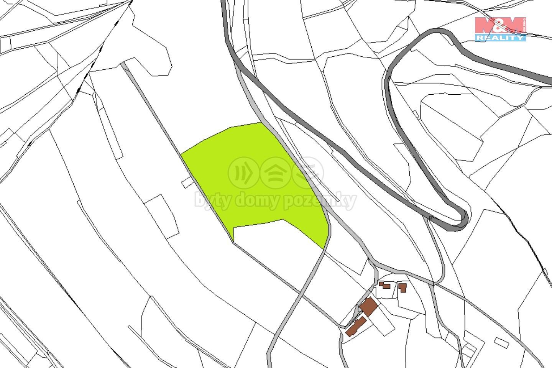 Prodej louky, 39518 m², Vrchlabí, ul. Hořejší Vrchlabí
