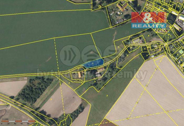 Prodej pozemku, 1143 m², Pěčín