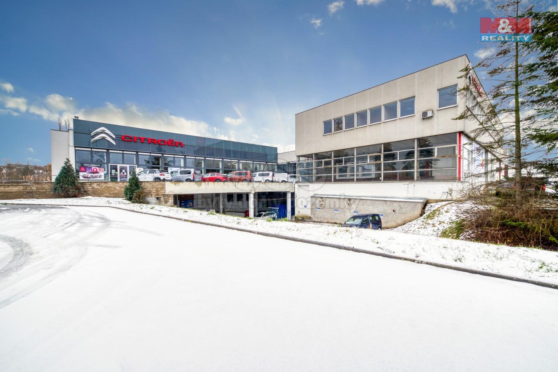 Pronájem, kancelářský prostor, 447 m², Plzeň, ul. Jateční
