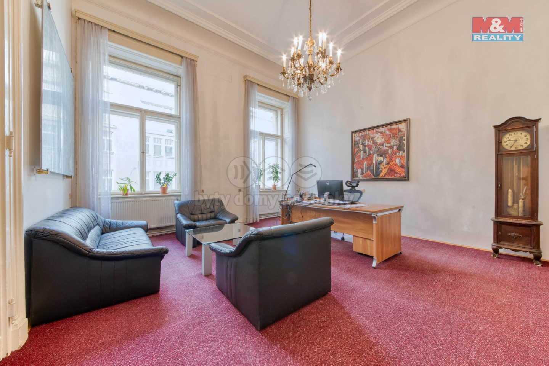 Pronájem kancelářských prost., 226 m², Praha, ul. Opletalova