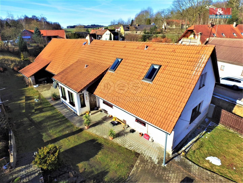 Prodej rodinného domu, 6+1, Vojslavice u Bystřice