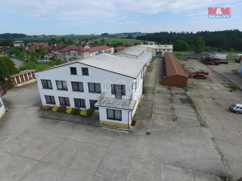Prodej výrobního objektu, 20256 m², Lom, ul. Lom