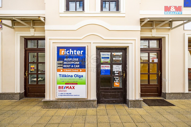 Pronájem obchod a služby, 40 m², M. Lázně, ul. Hlavní třída