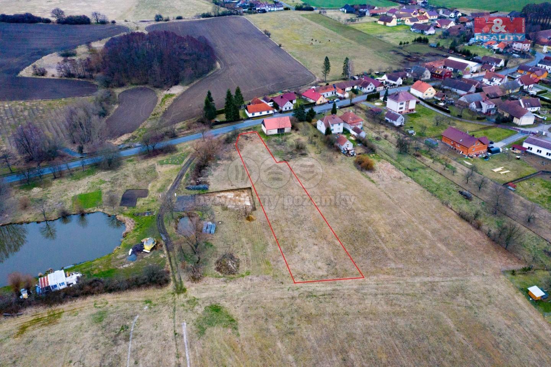 Prodej pozemku k bydlení, 2116 m², Horšice