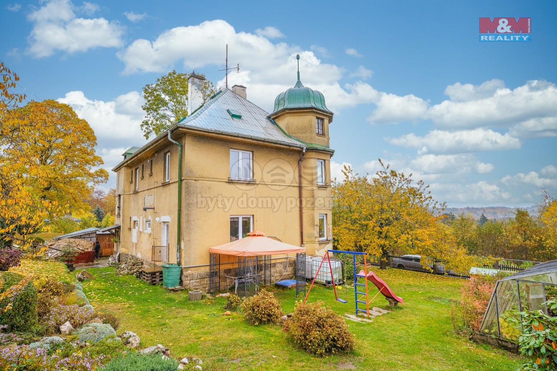 Prodej nájemního domu, 1614 m², Aš, ul. Nedbalova