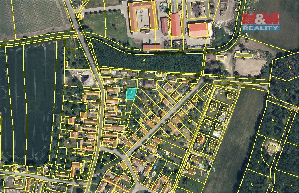 Prodej zahrady, 365 m², Velenka