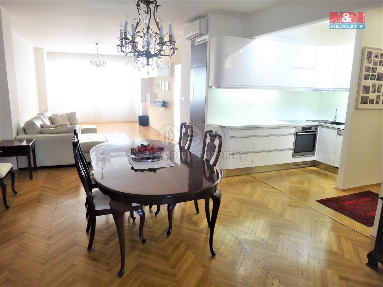 Pronájem bytu 4+kk, 125 m2, Praha 5 - Smíchov