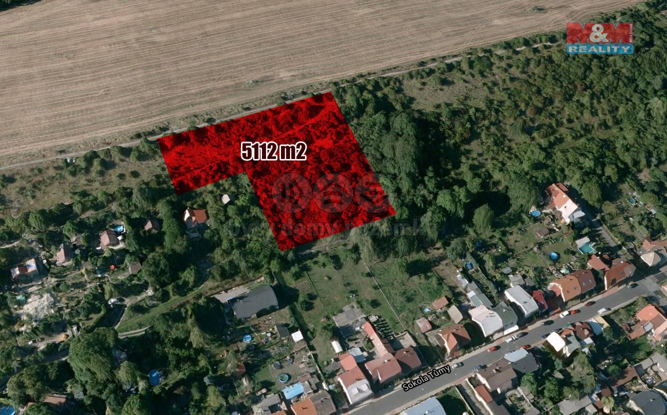 Prodej zahrady, 5112 m², Libušín