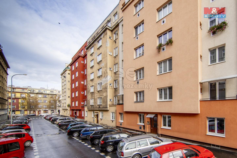 Pronájem bytu 1+1, 47 m², Praha, ul. Viklefova