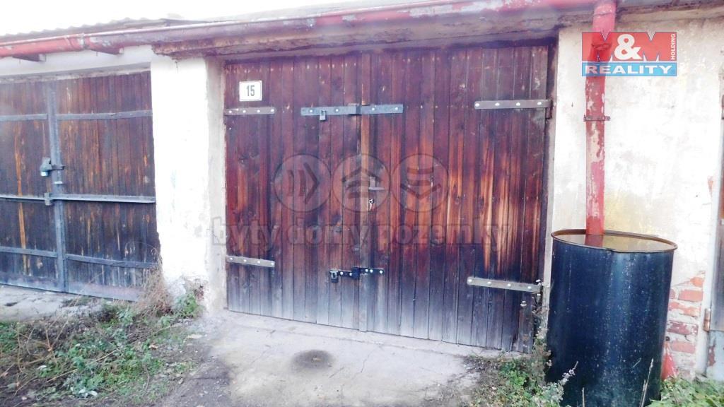 Prodej garáže v Braňanech 26 m2