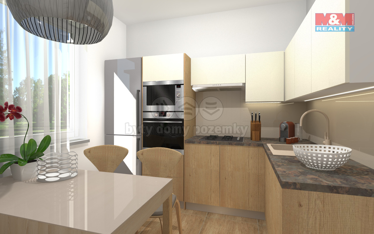 Prodej bytu 2+1, 60 m², Šumperk