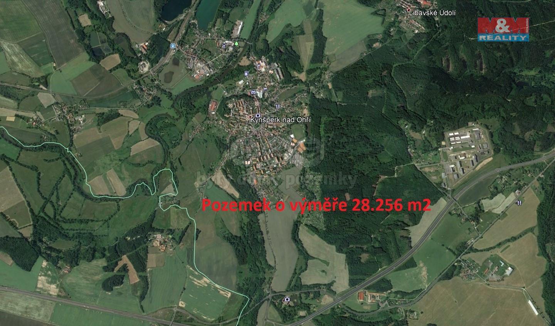 Prodej, louka, 28256 m2, Kynšperk nad Ohří