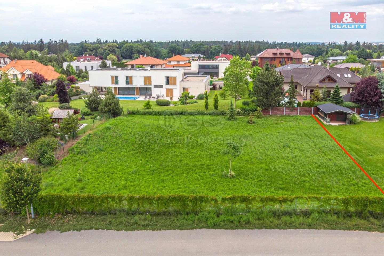 Prodej, stavební pozemek, 1225 m2, Jesenice - Osnice