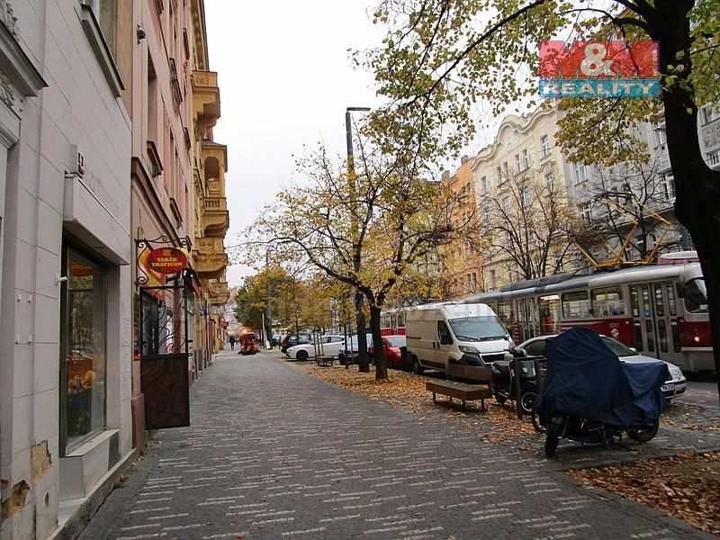 Pronájem bytu 1kk, 25 m2, Praha 10 - Vršovice