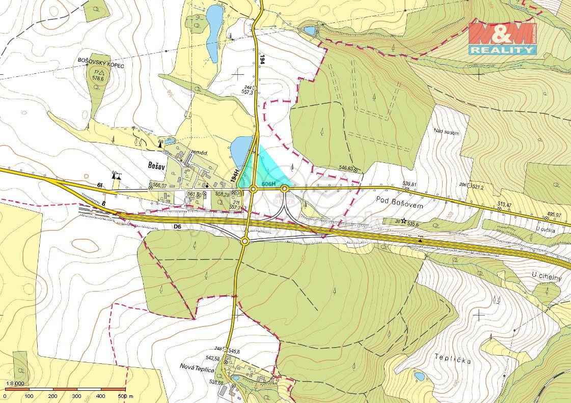 Prodej pozemek, 17432 m2, Valeč - Vrbice