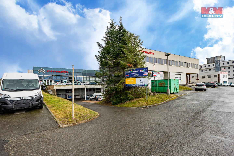 Pronájem, kancelářský prostor, 103 m², Plzeň, ul. Jateční