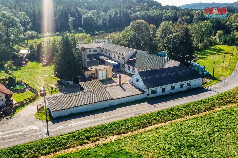 Pronájem výrobního objektu, 258 m², Strašice