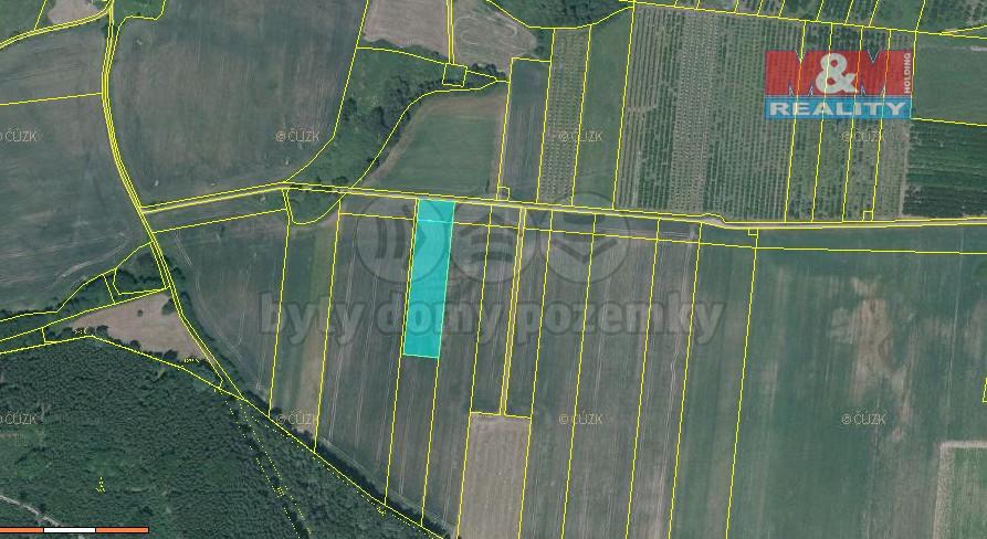 Prodej pole, 5093 m², Malovice