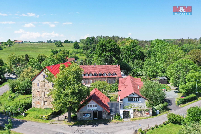Prodej, hotel, penzion, 8103 m2, Mladotice
