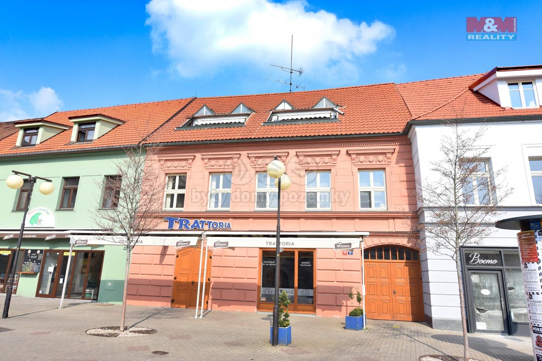 Pronájem bytu 1+1, 68 m², Poděbrady, ul. Jiřího náměstí