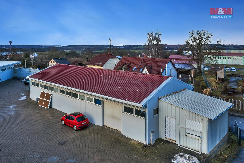 Pronájem skladu, 290 m², Sobotka, ul. Špálova