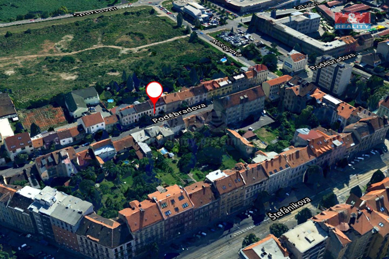 Pronájem, byt 1+1, 39 m², Brno, ul. Poděbradova